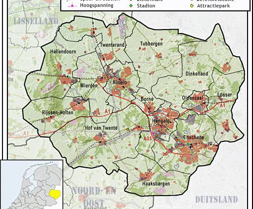 Afbeelding regio Twente